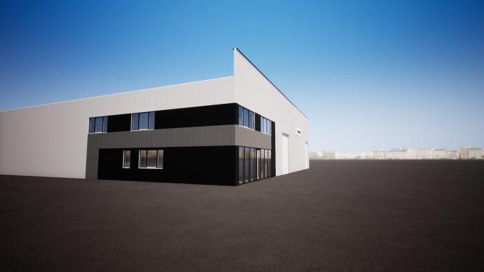 Louer Local professionnel Local professionnel, La Roche-sur-Yon 1200 m2 - LP496-DURET