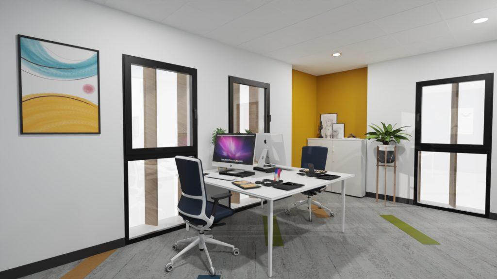 Aménagement bureaux vendée