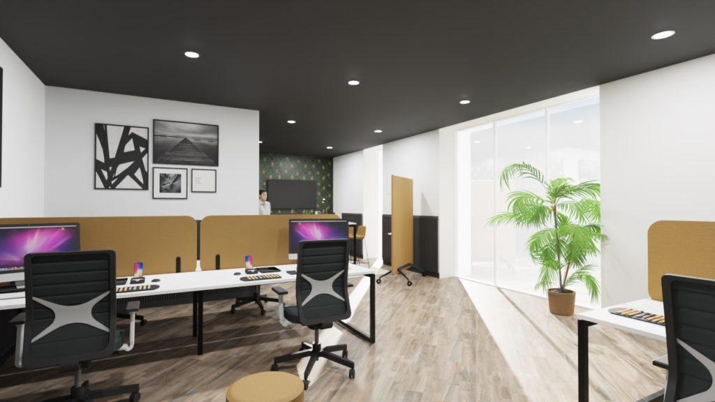 Aménagement architecture bureaux