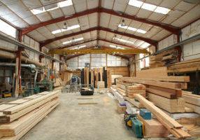 Construction local industriel